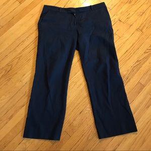 Tory Burch khaki pants navy blue size 14